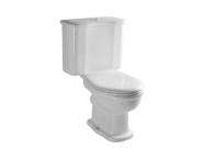 6285B003-0075 - Aria Single WC Pan with Bottom Outlet without Bidet Pipe