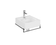 "64079 - ""Equal Washbasin Unit, 40 cm, with Towel Holder"""