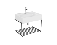 "64082 - ""Equal Washbasin Unit, 60 cm, with Shelf"""