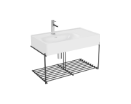 "64084 - ""Equal Washbasin Unit, 80 cm, with Shelf"""