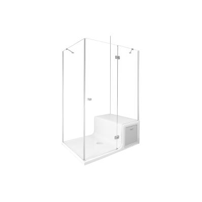 """Roomy Neo Compact Unit 120x090 cm, Right, U Wall"""