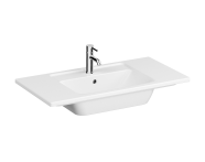 7037B003-0001 - Vanity Basin, 90 cm, One Tap Hole, With Overflow Hole