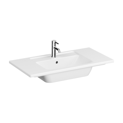 Vanity Basin, 90 cm, One Tap Hole, With Overflow Hole
