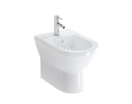 7039B003-0288 - Floor Standing Bidet, Back-To-Wall, 54 cm, One Tap Hole, Without Side Holes