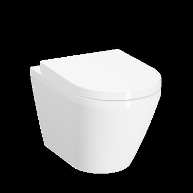"""""""Integra Rim-ex wall-hung WC Pan hidden fixation, 52 cm"""""""