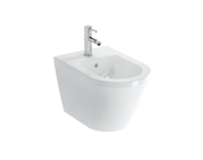 7042B003-0288 - Wall-Hung Bidet, 54 cm, Without Side Holes