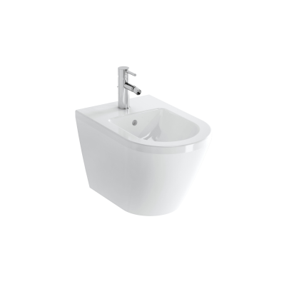 Wall-Hung Bidet, 54 cm, Without Side Holes