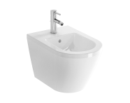 7042L003-0288 - Integra Wall-Hung Bidet, Hidden Fixation, without Side Holes