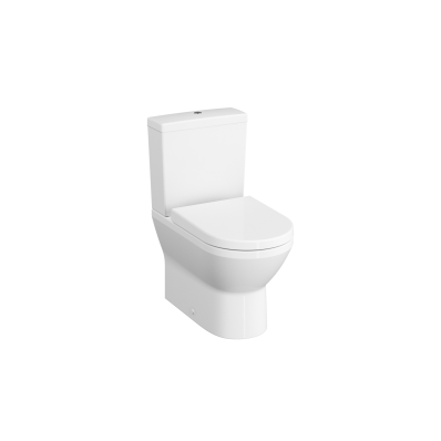Rim-Ex Close-Coupled WC Pan, Back-To-Wall, 62 cm, Without Side Holes