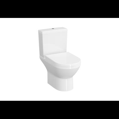 Rim-Ex Close-Coupled WC Pan, Open-Back, 62 cm