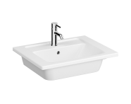 7055B003-0001 - Vanity Basin, 60 cm, One Tap Hole, With Overflow Hole