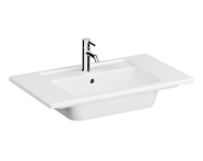 7056B003-0001 - Vanity Basin, 80 cm, One Tap Hole, With Overflow Hole