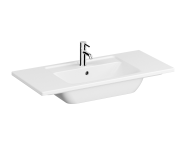 7057B003-0001 - Vanity Basin, 100 cm, One Tap Hole, With Overflow Hole