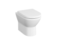 7059B003-0075 - Rim-Ex Single WC Pan, Back-To-Wall, 54 cm, Horizontal