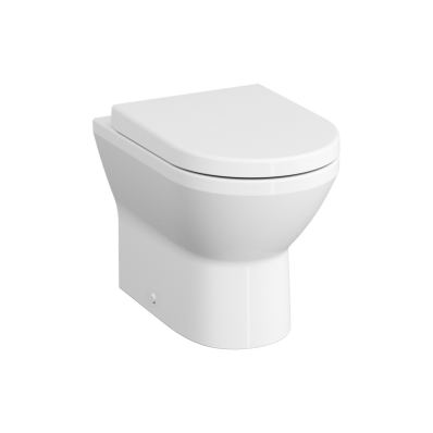 Rim-Ex Single WC Pan, Back-To-Wall, 54 cm, Horizontal
