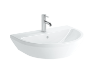 7061B003-0001 - Washbasin, 65 cm, One Tap Hole, With Overflow Hole