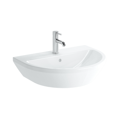 Washbasin, 65 cm, One Tap Hole, With Overflow Hole