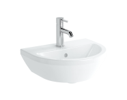 7065B003-0001 - Washbasin, 45 cm, One Tap Hole, With Overflow Hole