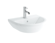 7066B003-0001 - Washbasin, 50 cm, One Tap Hole, With Overflow Hole