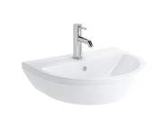 7067B003-0001 - Washbasin, 55 cm, One Tap Hole, With Overflow Hole