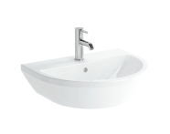 7068B003-0001 - Washbasin, 60 cm, One Tap Hole, With Overflow Hole