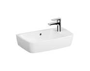 7071B003-0921 - Compact Basin, 60X35 cm, One Tap Hole On Right, With Overflow Hole, For Countertop Use