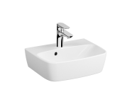 7074B003-0001 - Compact Basin, 45 cm, One Tap Hole, With Overflow Hole