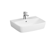 7077B003-0973 - Washbasin, 60 cm, One Tap Hole, With Overflow Hole, For Countertop Use