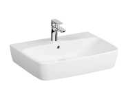 7078B003-0937 - Washbasin, 65 cm, One Tap Hole, Without Overflow Hole
