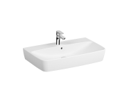 7080B003-0973 - Washbasin, 80 cm, One Tap Hole, With Overflow Hole, For Countertop Use