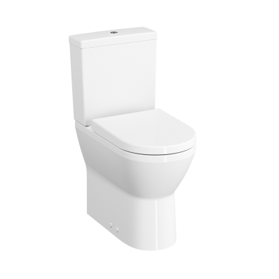 """""""Integra Rim-ex close-coupled WC pan, back-to-wall 62 cm, Rim-ex close-coupled WC pan, back-to-wall, high, Universal Outlet, with universal bidet function"""""""