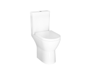 "7094B003-0088 - ""Integra Rim-ex close-coupled WC pan, open-back 62 cm, Rim-ex close-coupled WC pan, open-back, Horizontal Outlet, with bidet function"""