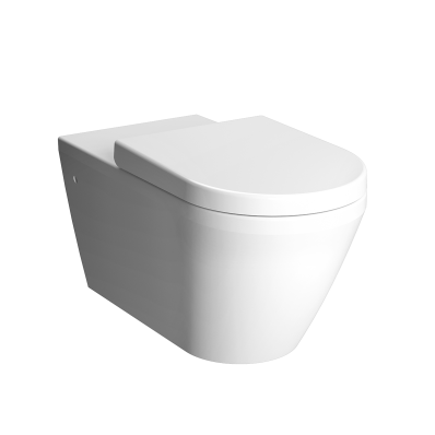 """Integra Rim-ex Wall hung WC Pan 70 cm, Rim-ex Wall hung WC Pan, With bidet function, hidden fixation"""