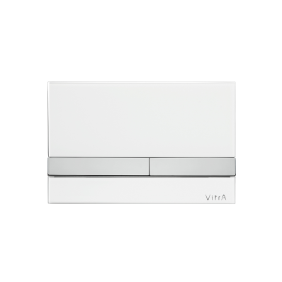 Select Mechanical Control Panel, Glass White