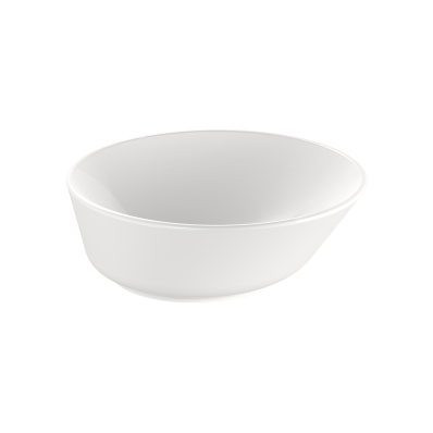 """Geo Round bowl 38 cm, round bowl, without tap hole, without overflow hole"""