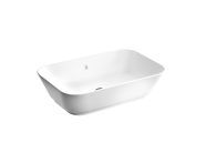 "7425B003-0012 - ""Geo Soft-Square Bowl 60 cm, soft-square bowl, without tap hole, with overflow hole"""