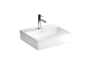 "7431B003-0631 - ""Nuo Washbasin Washbasin, With tap hole, with overflow hole, back side glazed, for countertop use"""
