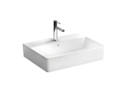 "7432B003-0631 - ""Nuo Washbasin Washbasin, With tap hole, with overflow hole, back side glazed, for countertop use"""