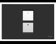 748-0111 - Twin2 Panel - Matte Black