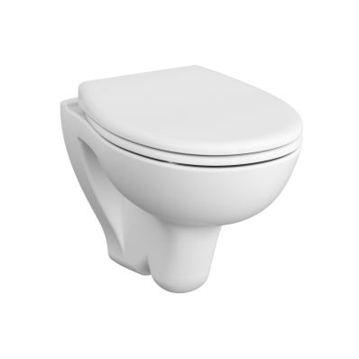 Wall-Hung WC Pan, Compact, 48 cm