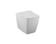 "7670B003-0090 - ""Metropole Rim-ex single WC pan, back-to-wall 54 cm, Rim-ex single WC pan, back-to-wall, With bidet function, Horizontal Outlet"""
