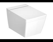 7743B401-0090 - Frame Rim-Ex Asma Klozet, Mat Beyaz