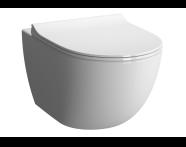 7747B003-0075 - Sento Compact Wall-Hung WC Pan, Rim-Ex