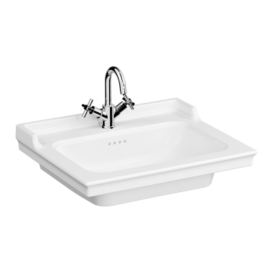 Vanity Basin, 65 cm, One Tap Hole, With Overflow Hole