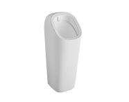 """7809B003H5330 - """"Monoblock urinal with integrated flushing mechanism , Back inlet, battery operated"""""""