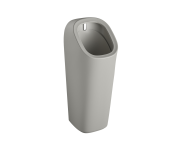 """7809B020-5330 - """"Plural Monoblock urinal with integrated flushing mechanism Back inlet, battery operated"""""""