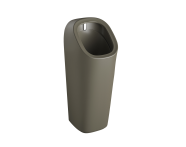 """7809B050-5330 - """"Plural Monoblock urinal with integrated flushing mechanism Back inlet, battery operated"""""""
