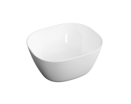 "7811B403-0016 - ""Plural Square high bowl basin 45 cm, without tap hole, without overflow hole"""