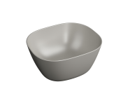 "7811B420-0016 - ""Plural Square high bowl basin 45 cm, without tap hole, without overflow hole"""