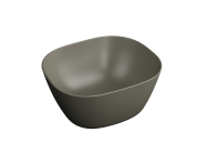 "7811B450-0016 - ""Plural Square high bowl basin 45 cm, without tap hole, without overflow hole"""